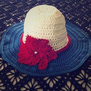 Hat for summer crochet